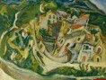 Vue de Cagnes - Cham Soutine