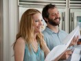 Leslie Mann et Judd Apatow sur le tournage de &quot;40 ans : mode d&#039;emploi&quot;, en salles le 13 mars 2013 - 40 ans : mode d&#039;emploi