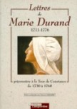 Lettres de Marie Durand (1711-1776)